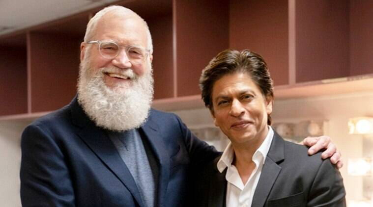 shah rukh khan and david letterman