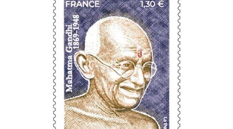 France issues postage stamp on Gandhi's 150th birth anniversary
