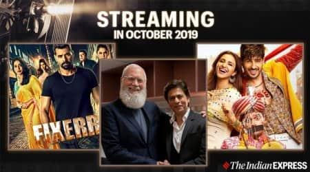 streaming in october 2019