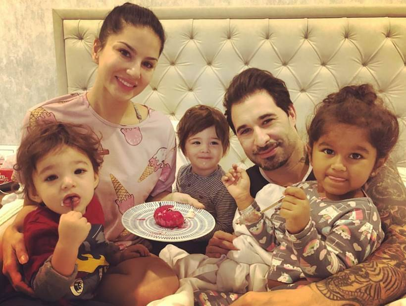 Image result for Sunny Leone family