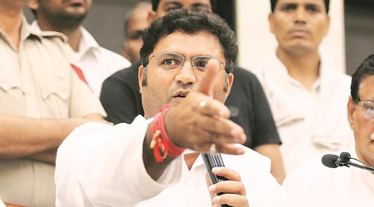 Haryana elections, Haryana congress chief resigns, Ashok Tanwar Congress, Congress Ashok Tanwar resigns, Haryana election news, indian express news