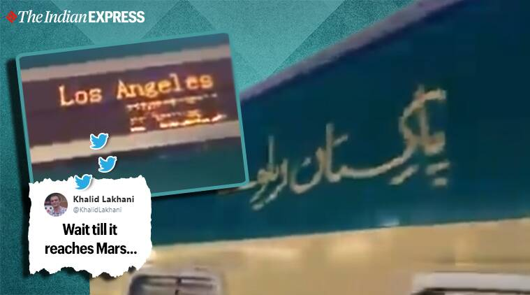 pakistan, pakistan train to los angeles, netizens troll pak, netizens troll pak railways minister, pak train los angeles viral video