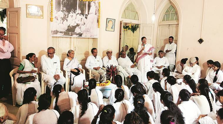 Ahmedabad: Prayer meeting held to celebrate 100th year of Gujarat Vidyapith founded by Gandhi
