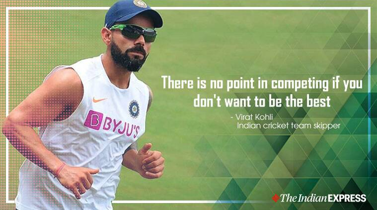 There is no point competing if you don't want to be the best: Virat Kohli