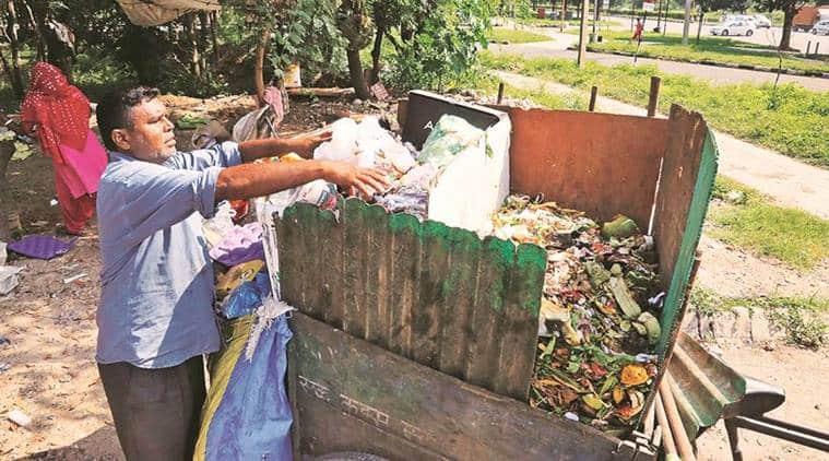 chandigarh city news, chandigarh waste segregation, sehaj safai kendras chandigarh, chandigarh waste collectors, indian express