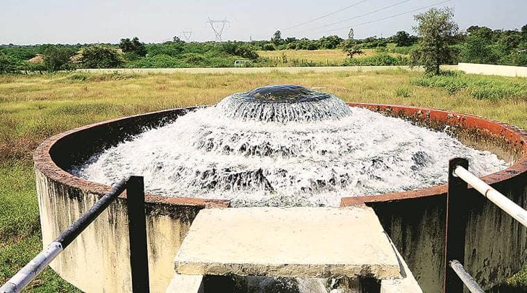 vadodara news, vadodara drinking water supply, Waghodia taluka, groundwater, water connectivity in village, indian express news