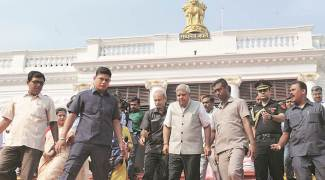 Post JU fracas: Centre gives Governor 'Z' security, replaces state police with CRPF