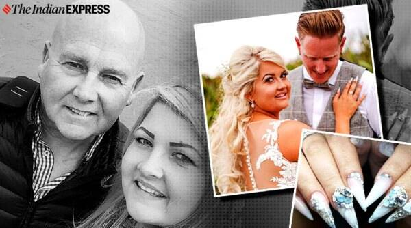 Bride uses late father's ashes in her bridal manicure, UK, England, bizarre news, Trending, Indian Express news