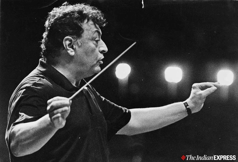 zubin mehta final performance, israeli orchestra, music maestro, Zubin Mehta, Zubin Mehta Biography, Zubin Mehta Music, Zubin Mehta Songs, Zubin Mehta Western Classical music, world news, indian express