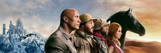 Jumanji The Next Level characters posters