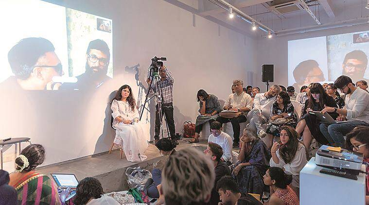 Experimenter Curators' Hub, Experimenter gallery in Kolkata, art galleries in kolkata, Priyanka raja, Prateek Raja, indian express news