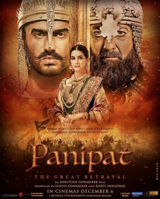 Panipat posters