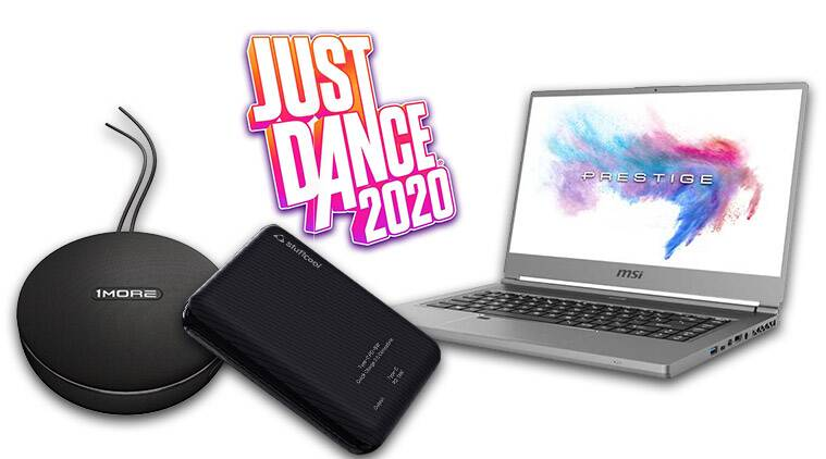tech launches of the day, Stuffcool, 1MORE, Vodafone, Just Dance 2020, MSI, Just Dance, Ubisoft, Vodafone REDX plan, Stuffcool 10,000mAh power bank, MSI Content Creation series, 1MORE Portable Bluetooth Speaker