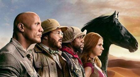 Jumanji The Next Level character posters