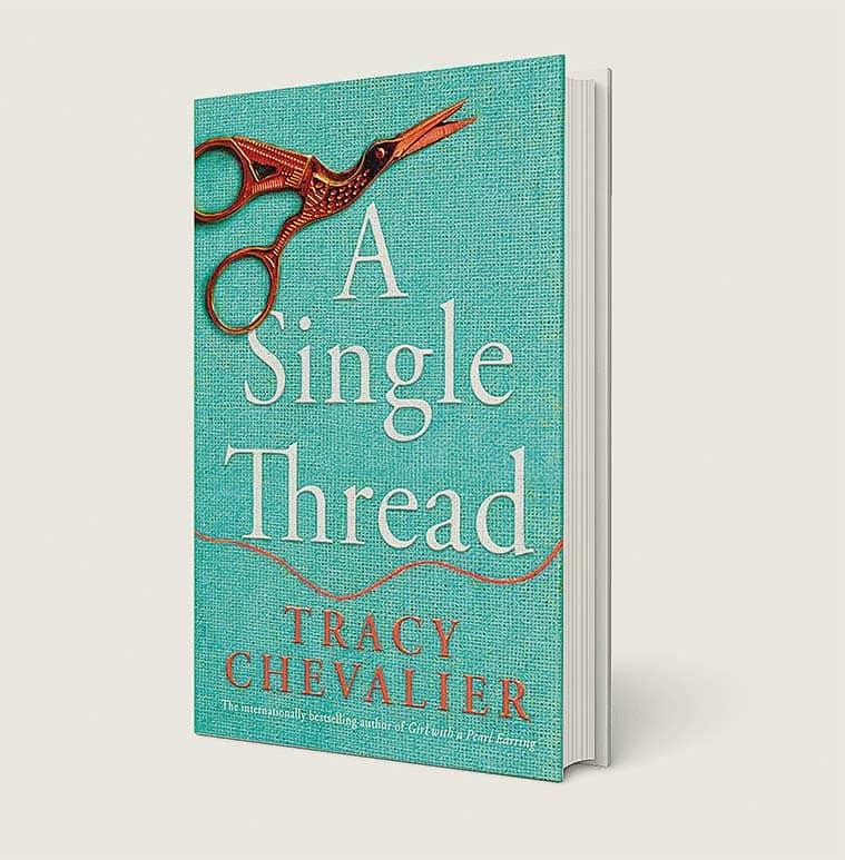 Tracy Chevalier, Tracy Chevalier novels, Tracy Chevalier Girl With a Pearl Earring, Tracy Chevalier A Single Thread