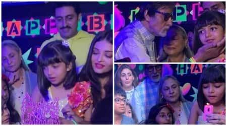Aaradhya, Aaradhya Bachchan birthday, Aaradhya Bachchan birthdya inside photos, Aishwarya Rai, Abhishek Bachchan , Shweta Bachchan, Amitabh Bachchan, Jaya Bachchan, Aaradhya Bachchan age, Aaradhya Bachchan cake, Aaradhya Bachchan family