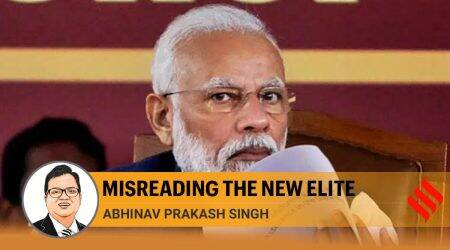 Tavleen Singh gets it wrong. PM Modi did not create the parivartan, he is a product of it