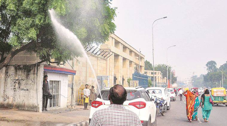 Noida air quality, Noida pollution, Ghaziabad pollution, UP cities pollution, indian express news