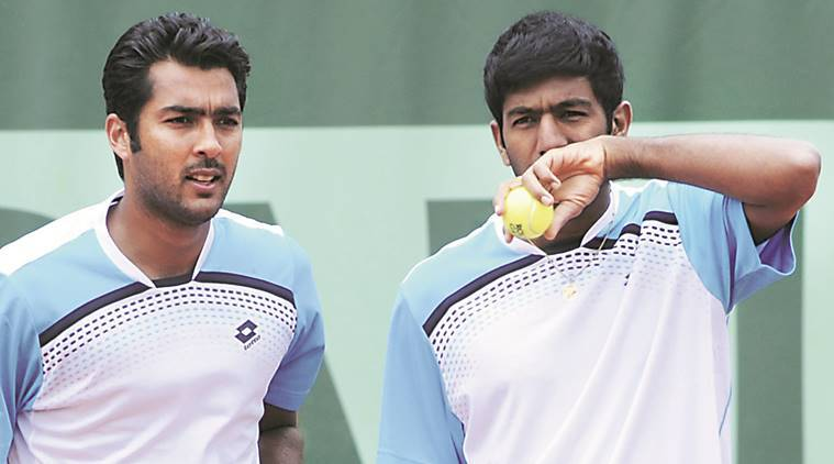 Aisam ul haq qureshi india pakistan davis cup match