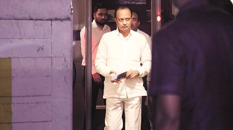 Ajit Pawar resigns as deputy CM, Ajit Pawar deputy chief minister, floor test in Maharashtra, maharashtra government formation, supreme court on maharashtra, ncp, devendra fadnavis, indian express