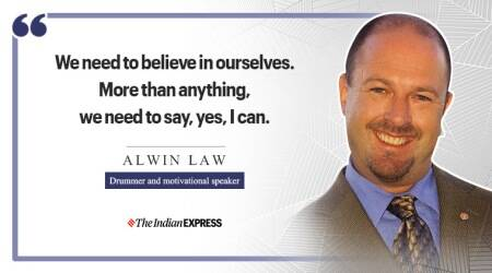 Alwin Law, Alwin Law drums, indianexpress.com, indianexpress, Rio Paralympic Games in 2016 Alwin Law drums, Life Positive, good morning, inspiring thoughts, motivational messages, good morning messages,