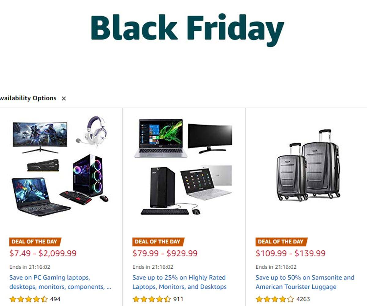 Black Friday 2019 Best Deals On Laptops Gaming Consoles And How To Ship To India Technology News The Indian Express
