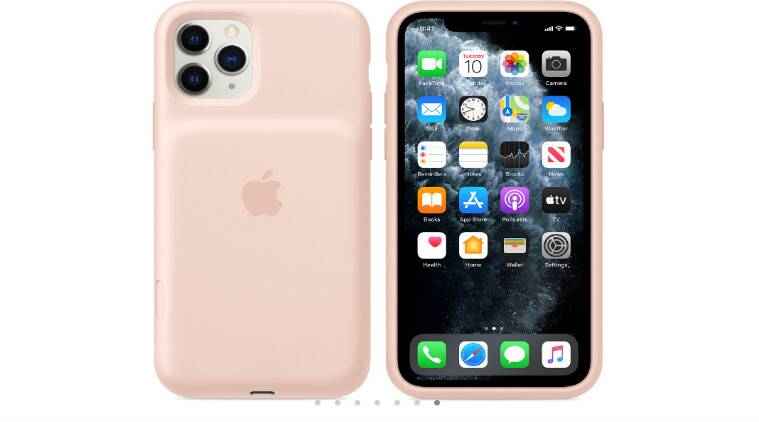 Apple's iPhone 11 Pro battery case comes with a dedicated camera button