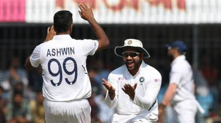 R Ashwin, Muttiah Muralitharan, R Ashwin Test record, R Ashwin 250 Test wickets at home, Fastest to 250 wickets at home, Test records, India vs Bangladesh 1st Test, IND vs BAN 1st Test, Mominul Haque