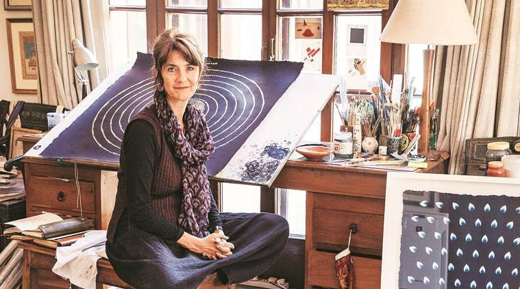 Olivia Fraser, Olivia Fraser artwork, Olivia Fraser, Olivia Fraser exhibition, Olivia Fraser william darymple, indian express, indian express news