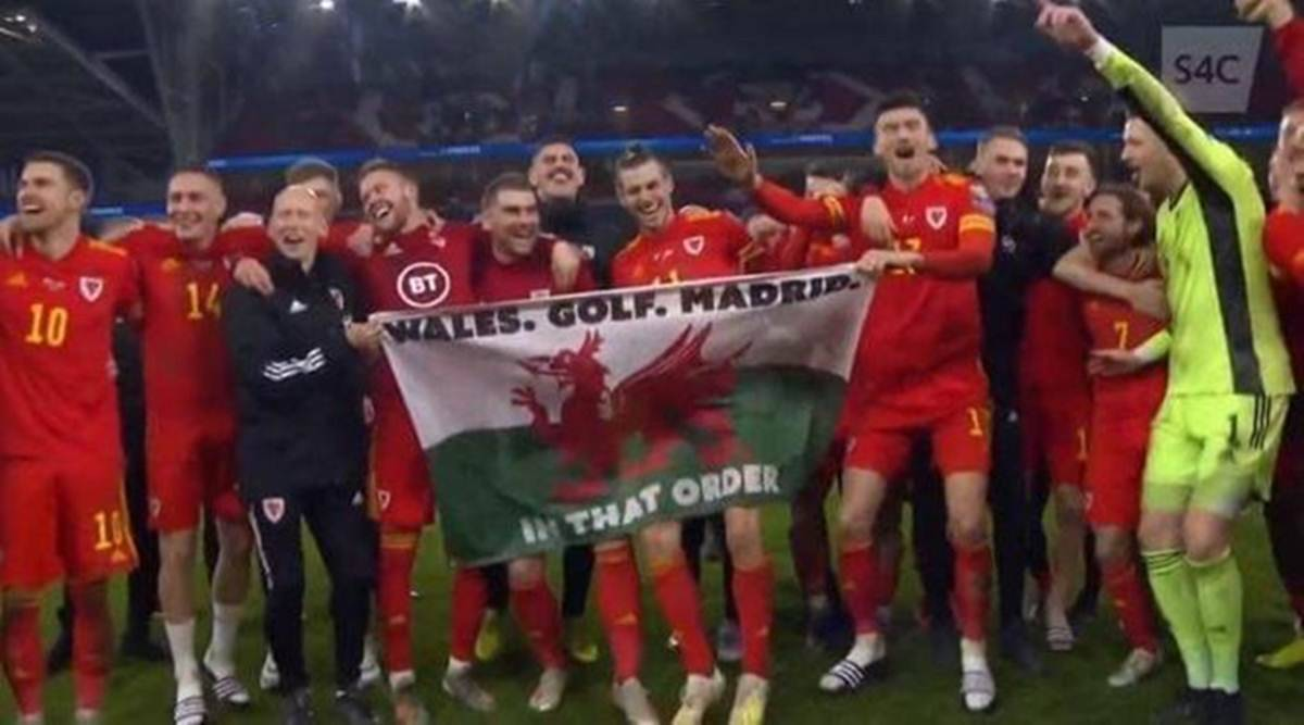 Watch: Gareth Bale in Madrid jibe after helping Wales reach Euro ...