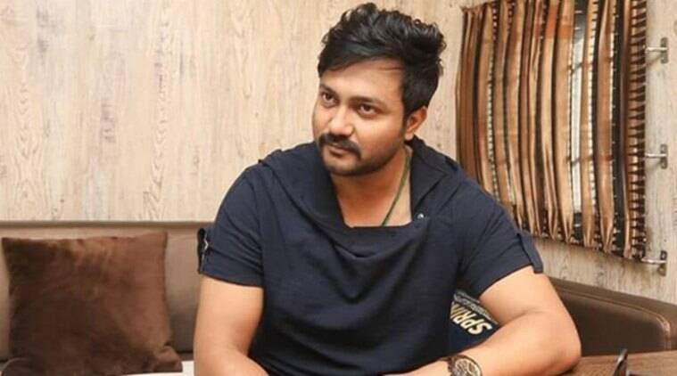 Bobby Simha celebrated birthday on Indian 2 sets