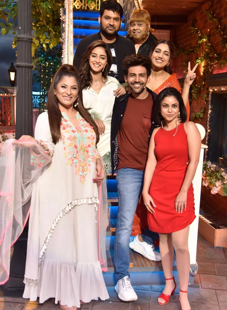 Cast of Pati Patni aur Woh on The Kapil Sharma Show
