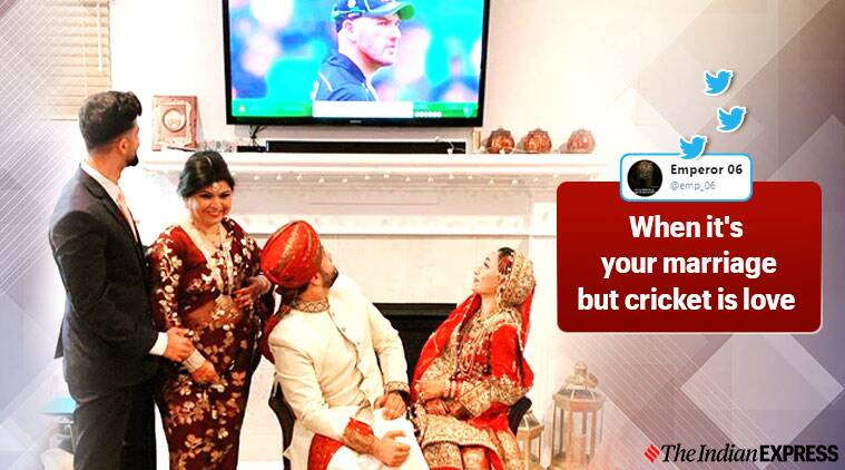 ICC, pakistan vs australia, Pakistani couple, Pakistan, Pakistan cricket team, couple goals, trending, indian express, indian express news