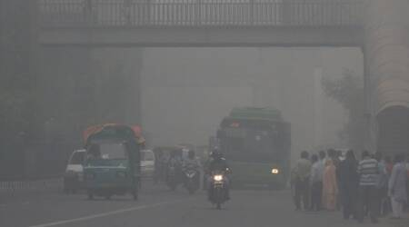Delhi pollution, Pollution in Delhi, Delhi air quality, Delhi pollution AQI, Delhi AQI, Delhi pollution news, Delhi pollution AAP, AAP BJP Delhi pollution, Delhi pollution measures, Indian Express news