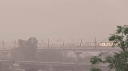 Delhi Resident, air pollution levels, WHO guidelines, Delhi news, Indian express news