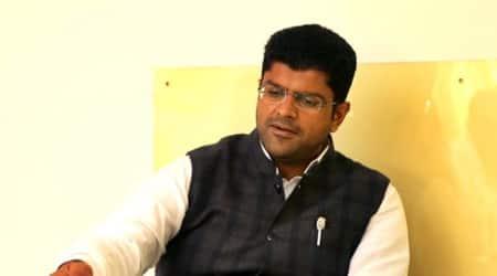 Haryana government, Dushyant Chautala, unemployed youths, Haryana news, Indian express news