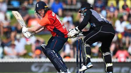 New Zealand vs England 3rd T20I, NZ vs ENG 3rd T20I, New Zealand beat England, Colin de Grandhomme fifty, James Vince, Dawid Malan, Tom Banton debut, Mark Parkinson debut, Blair Tickner