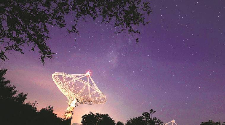 Hydrogen gas content, Galaxies in space, GMRT, Pune GMRT, GMRT Pune, Pune scientists, Pune astronomers, Pune news, city news, Indian Express