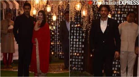 shah rukh khan, aishwarya rai, shahid kapoor at ambani niece pre wedding bash