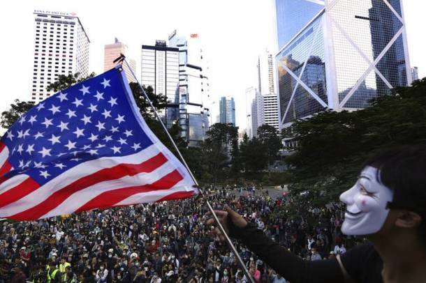 Hong Kong seniors take to streets to back students as activists decry police