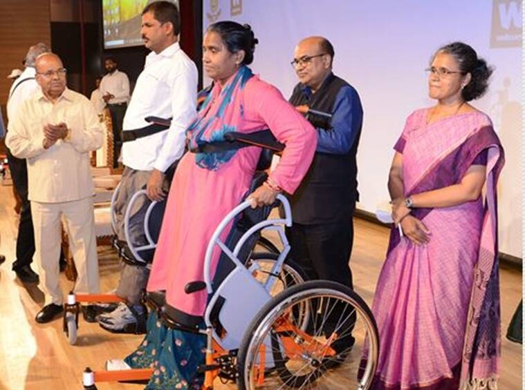 IIT-Madras, Indian Institute of Technology Madras, IIT Madras, IIT Madras Arise, iitm.ac.in, Standing Wheelchair, Standing Wheelchair Arise
