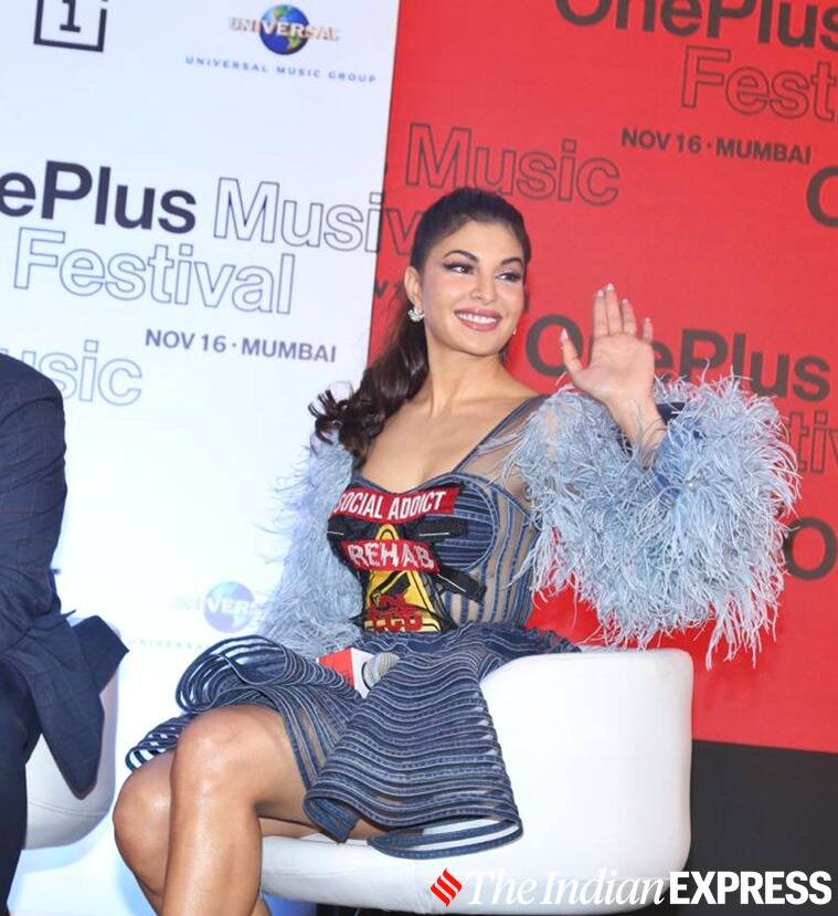 katy perry oneplus event, katy perry singer, katy perry latest photos, katyv perry Jacqueline Fernandez photos, Jacqueline Fernandez latest photos, indian express, lifestyle, oneplus concert