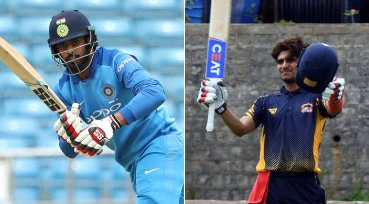 Gill scores century in Deodhar Trophy