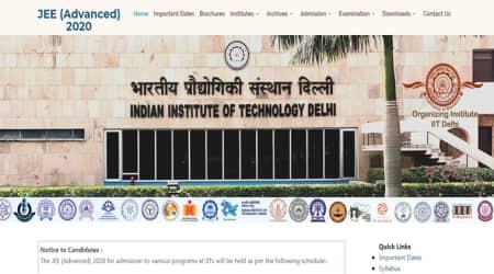 JEE Advanced, jeeadv.ac.in, iit delhi, jee website
