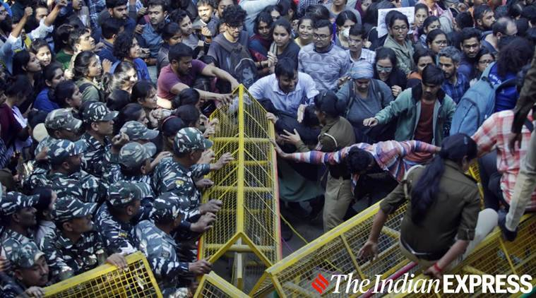 JNU protest: 100 students detained; police to file an FIR