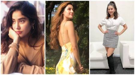Janhvi Kapoor, Disha Patani, Sunny Leone, Celebrity social media photos, social media photos, Hina Khan, Tara Sutaria