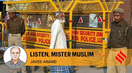 Listen, Mister Muslim. You are rightly upset with the Ayodhya verdict as it puts faith above law