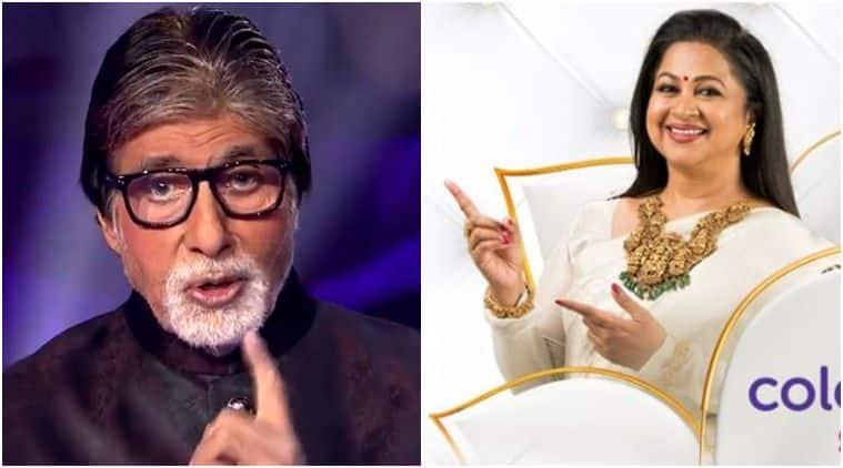 Amitabh Bachchan congratulates Radikaa
