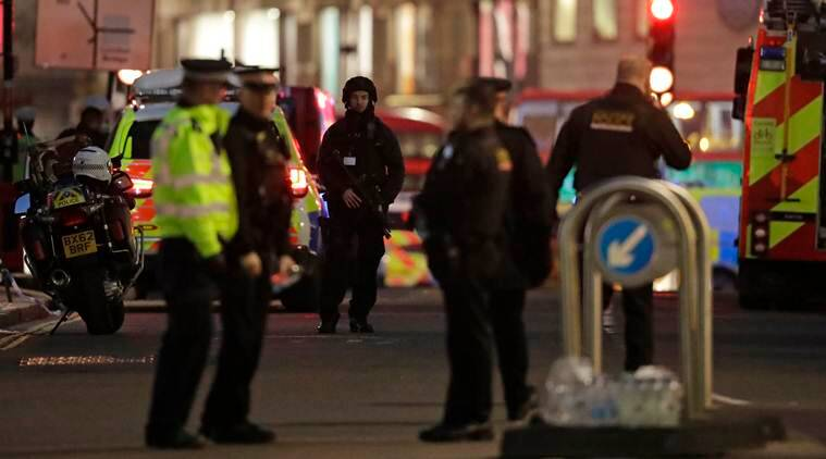 London: Several stabbed, suspect shot dead by police in terror incident