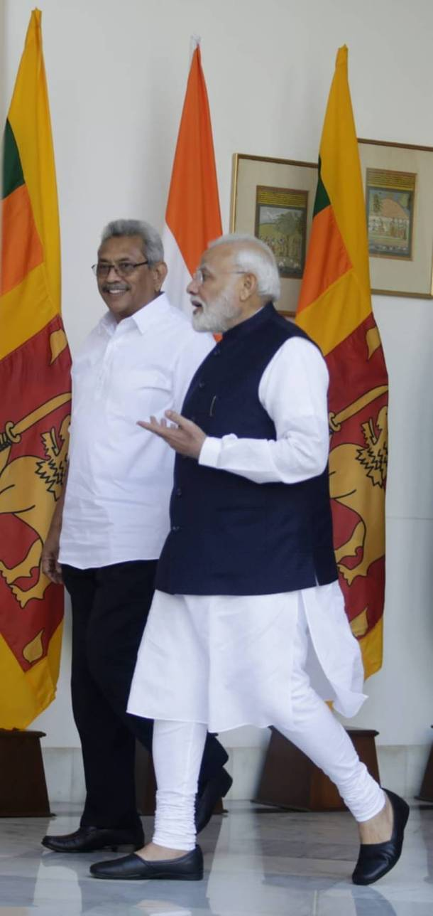 India offers credits to boost Sri Lankan economy, security